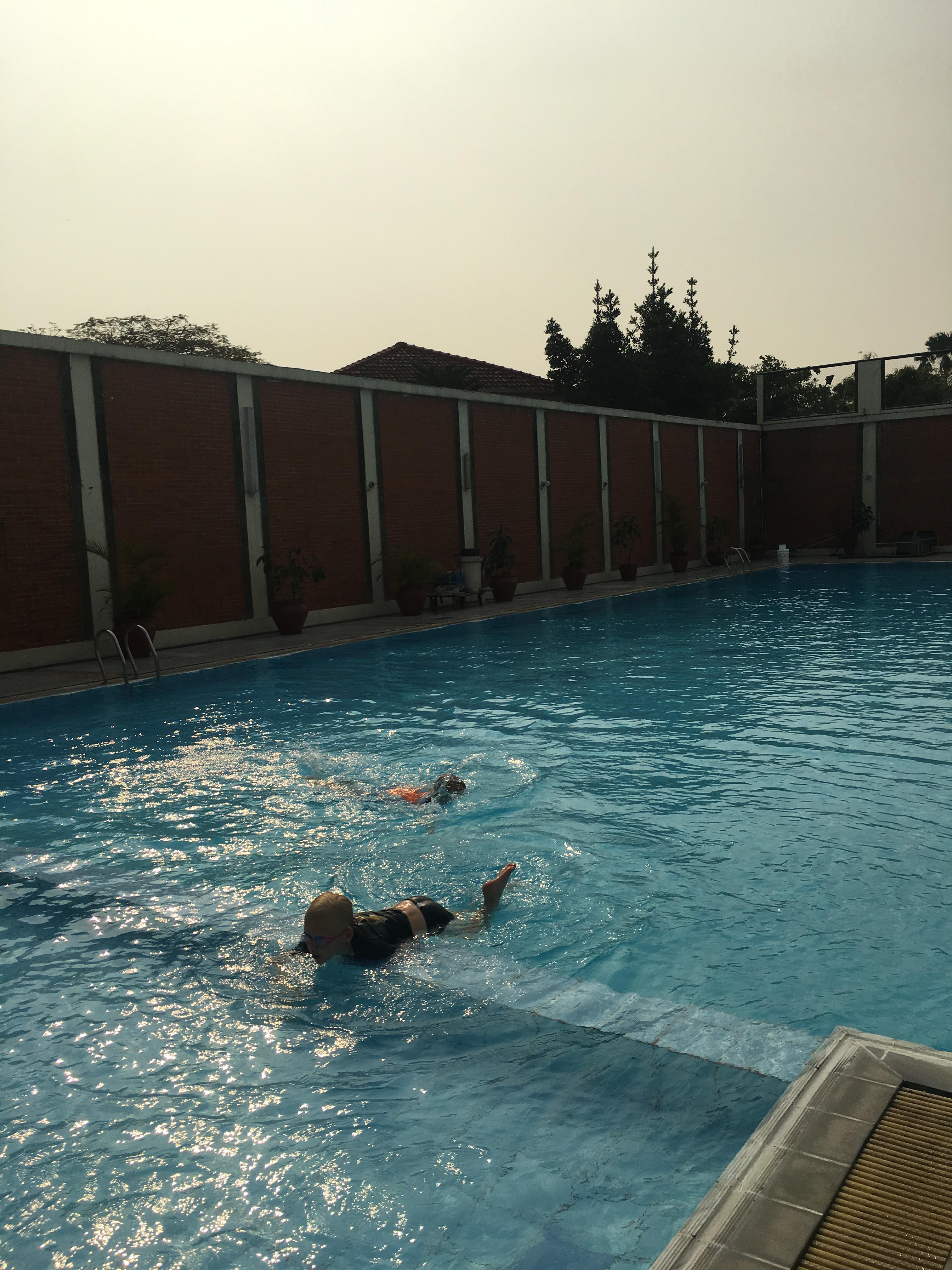 big pool time